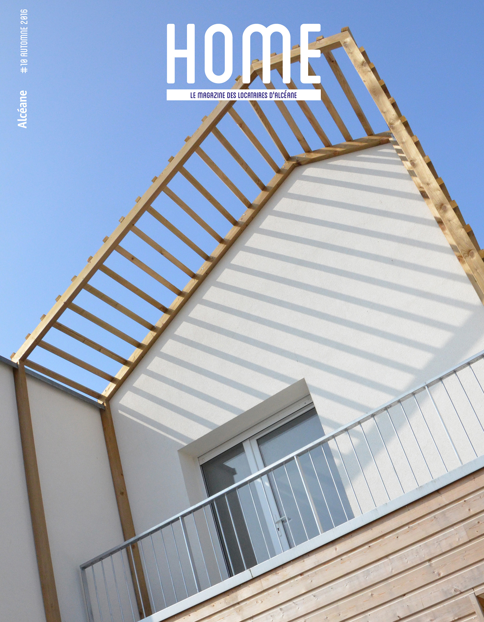 Page de couverture du magazine Home 10