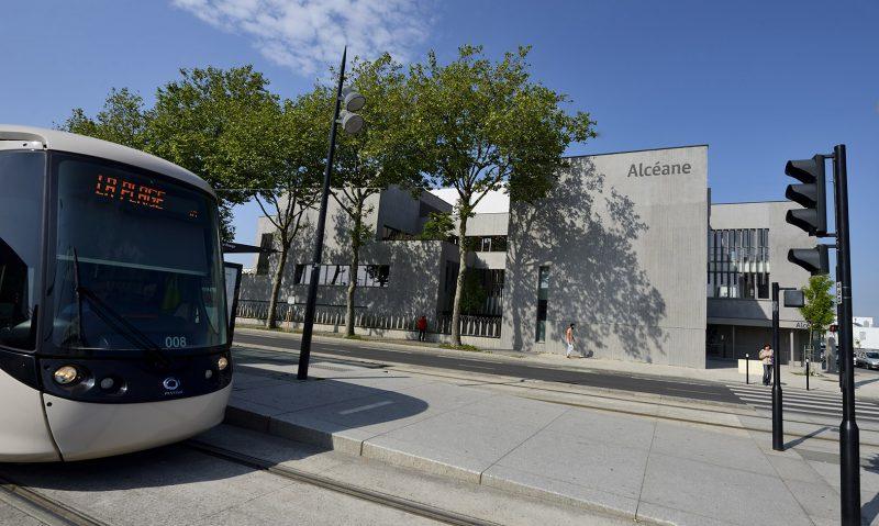 Photo d'extérieur du siège d'Alcéane