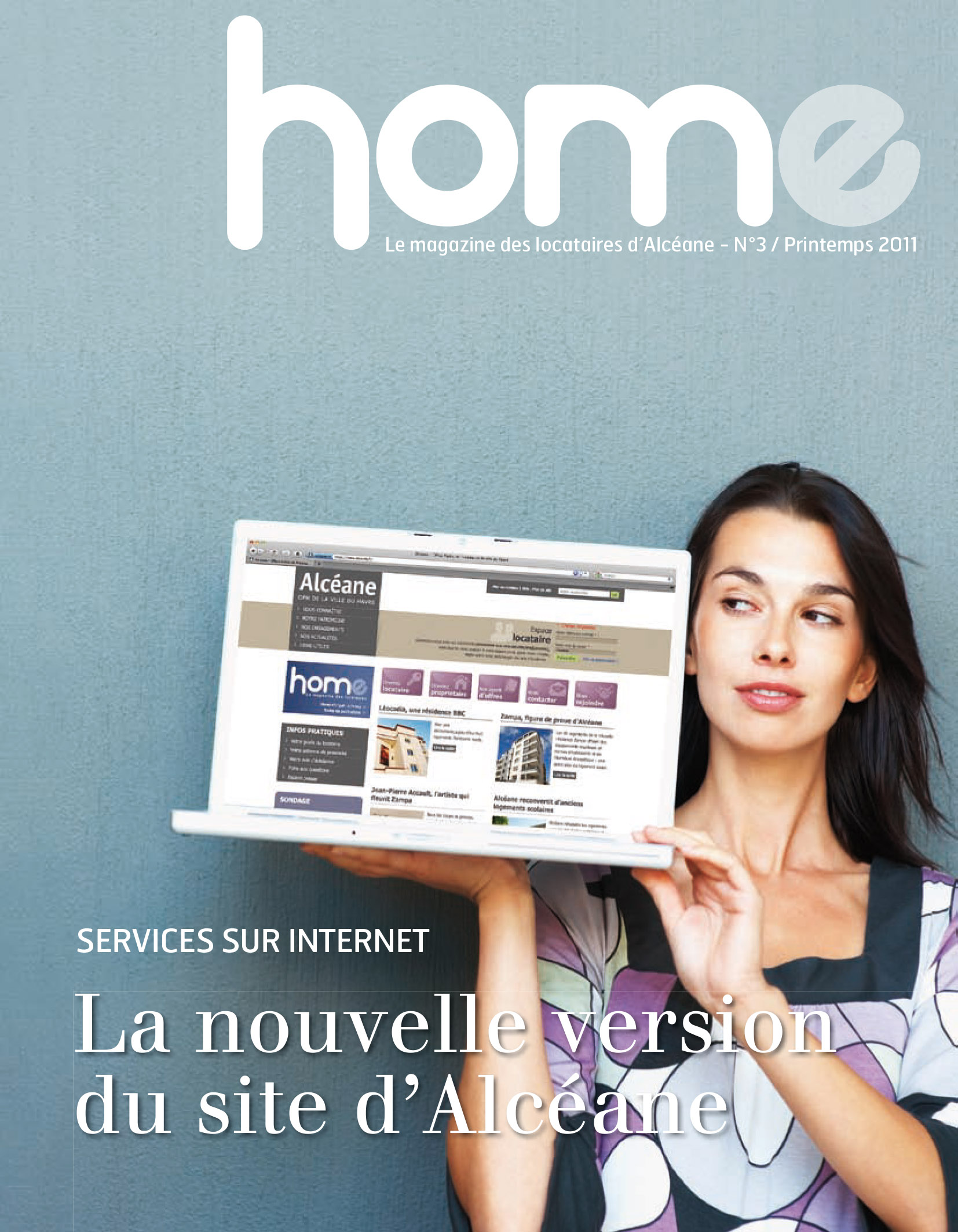 Page de couverture du magazine Home 3