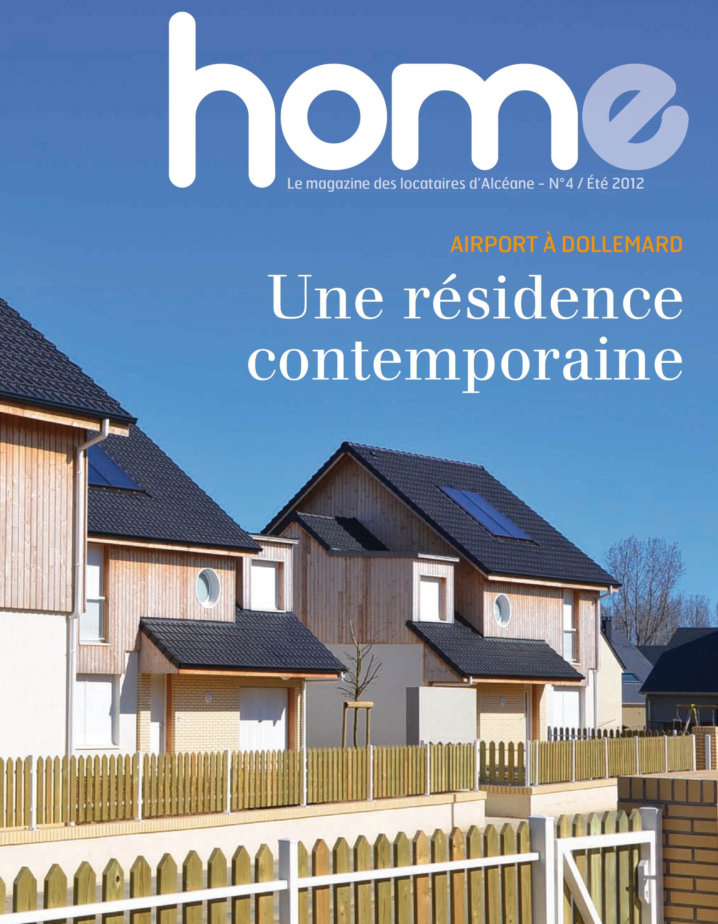 Page de couverture du magazine Home 4