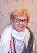 Photo de madame Laasri représentant des locataires au conseil d'administration d'Alcéane