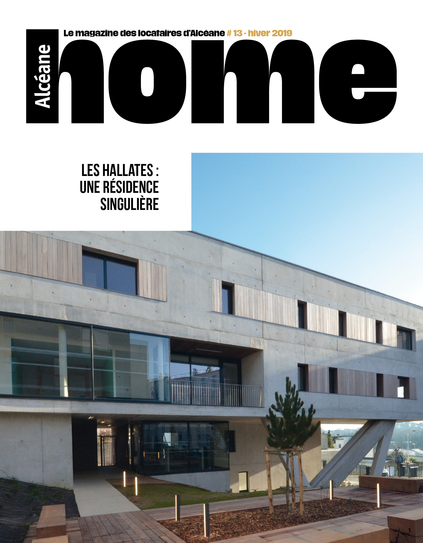 Couverture magazine Home n°13