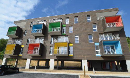 Photo de la résidence Les Calètes à Harfleur